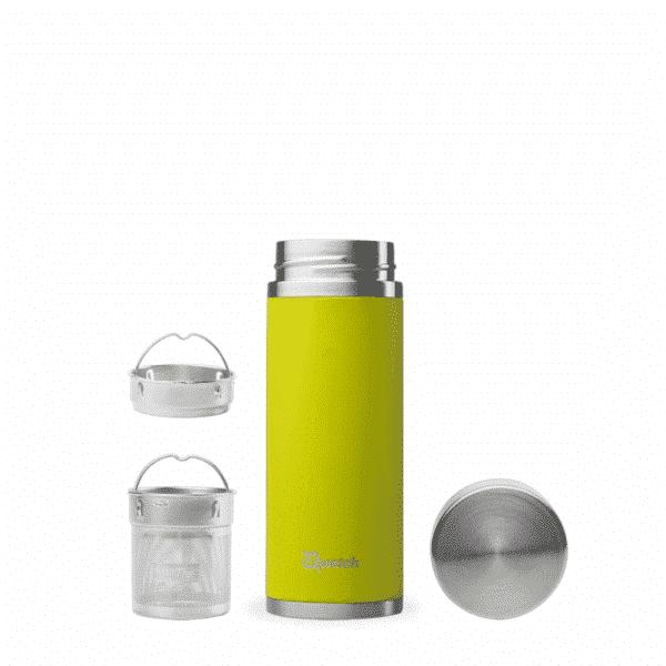 Théière nomade vert anis avec filtre 400ml - Qwetch
