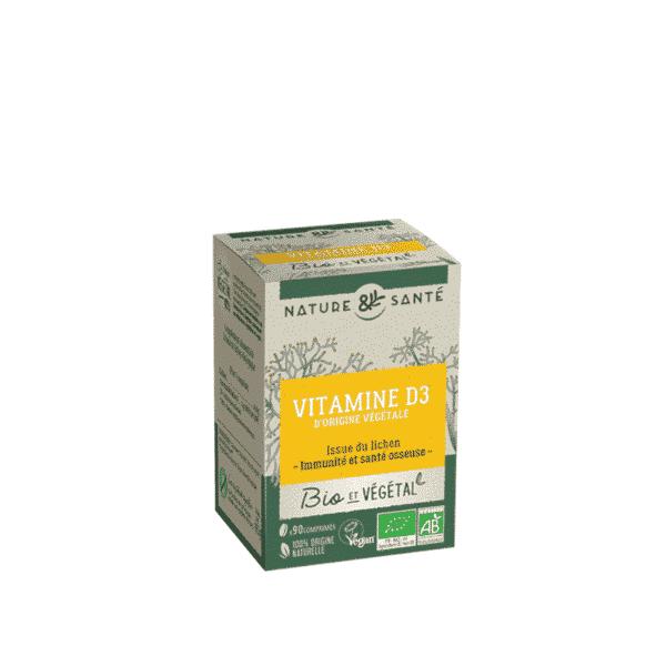 Vitamine D3 Bio - Nature & Santé