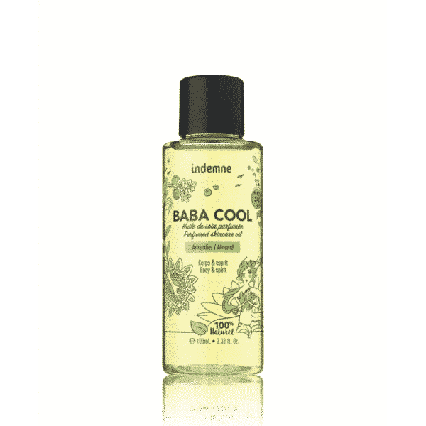 Baba Cool Amandier - Huile De Soin Parfumée Bio Indemne