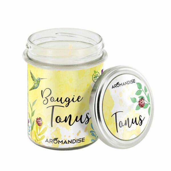 Bougie Tonus Bio Aromandise