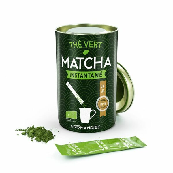 Thé Vert Matcha Instantané Bio Aromandise
