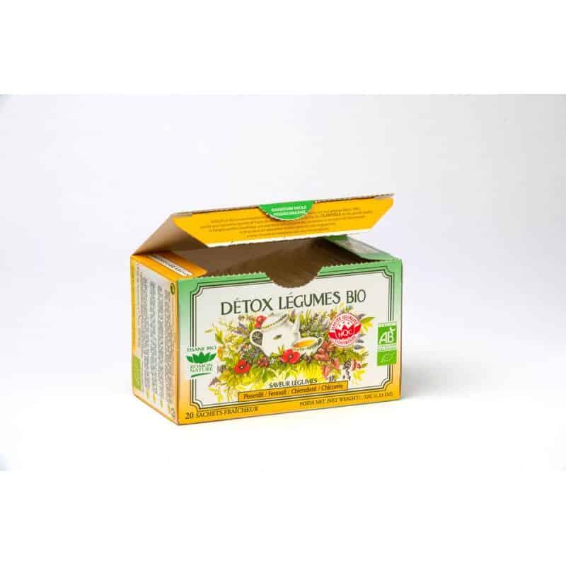 Tisane Détox légumes bio - 20 sachets