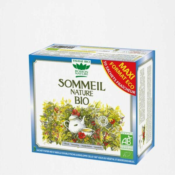 Tisane Sommeil Nature BIO - 50 sachets - Romon Nature