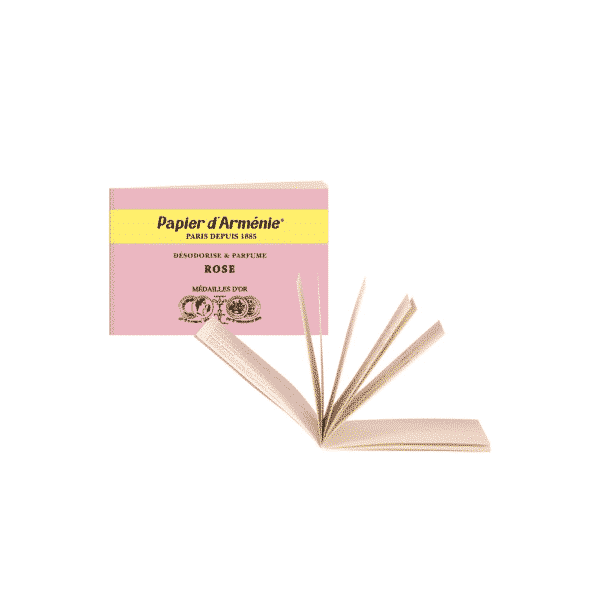 Carnet de Papier d'Arménie La Rose