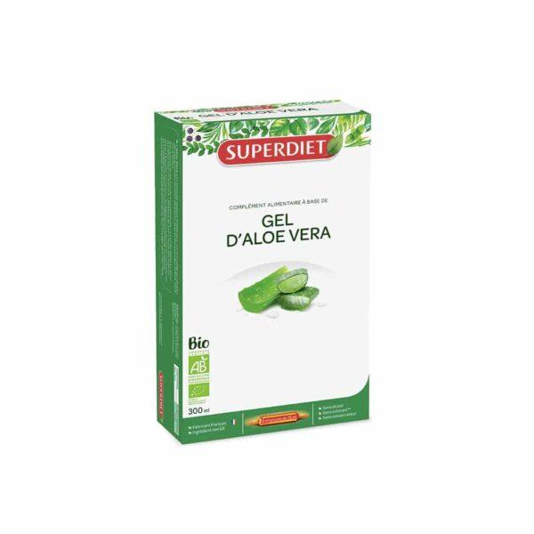 Gel Aloe Vera BIO ampoules - SuperDiet
