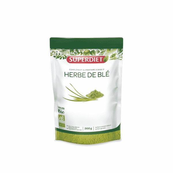 Herbe de blé BIO - SuperDiet
