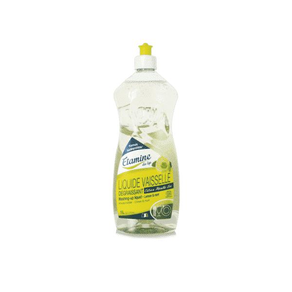 Liquide Vaisselle Dégraissant Citron-Menthe 1L - Etamine du Lys