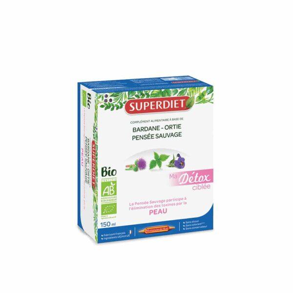 Ma Detox ciblee Peau Bio- SuperDiet