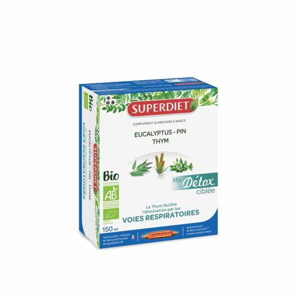 Ma Detox ciblee Voie respiratoire Bio- SuperDiet