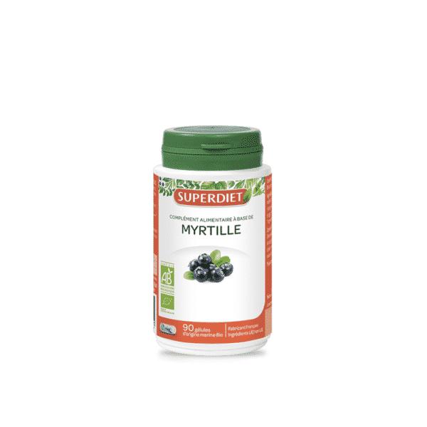 Myrtille Bio gélules - SuperDiet