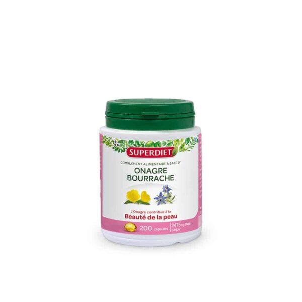 Onagre Bourrache capsules - SuperDiet