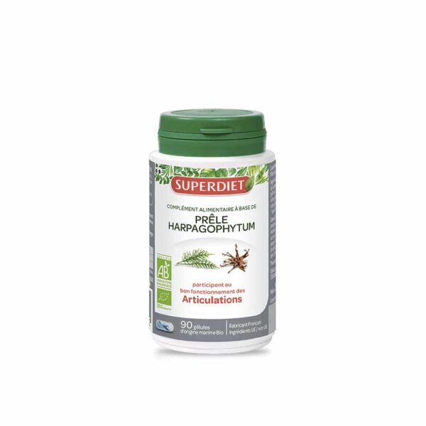Prele Harpagophytum Bio gelules - SuperDiet
