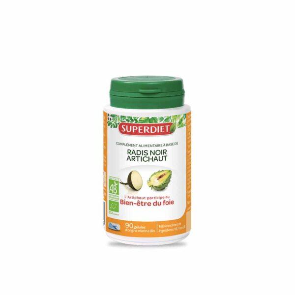 Radis noir Artichaut Bio gelules - SuperDiet