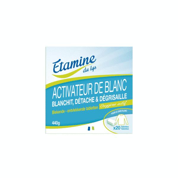 Tablette Activateur de Blanc Linge - Etamine du Lys