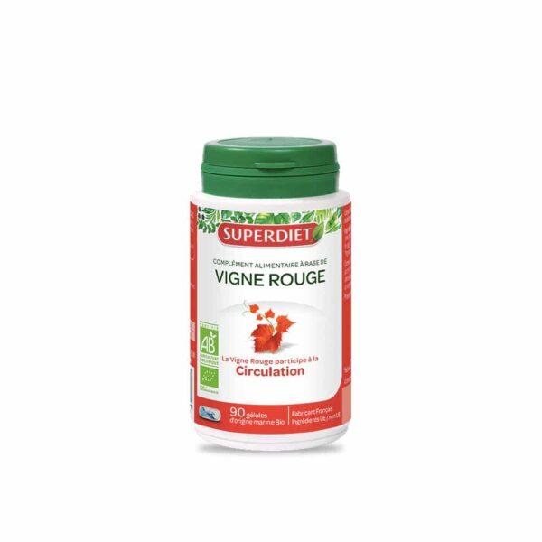 Vigne Rouge Bio gélules - SuperDiet