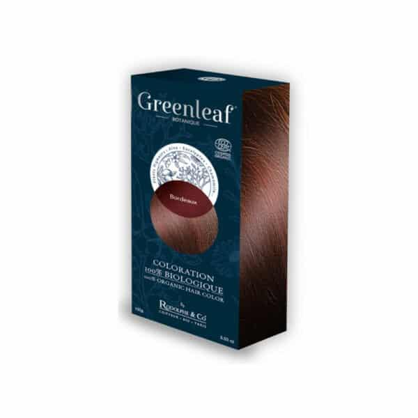 Coloration vegetale Bio Bordeaux - Greenleaf