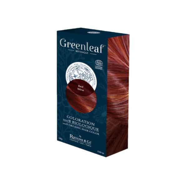 Coloration vegetale Bio Rouge - Greenleaf