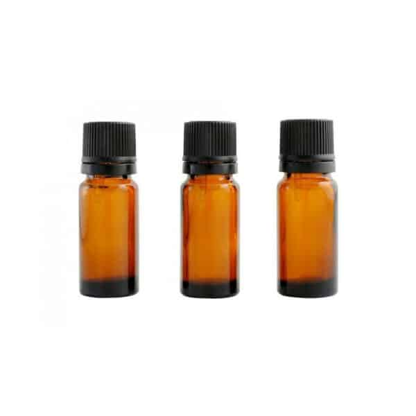 Lot de 3 flacons ambres avec codigouttes 10ml - Centifolia