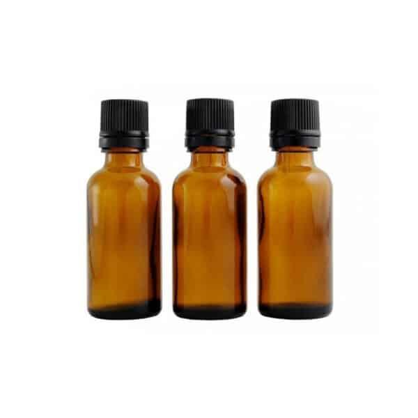 Lot de 3 flacons ambres avec codigouttes 30ml - Centifolia