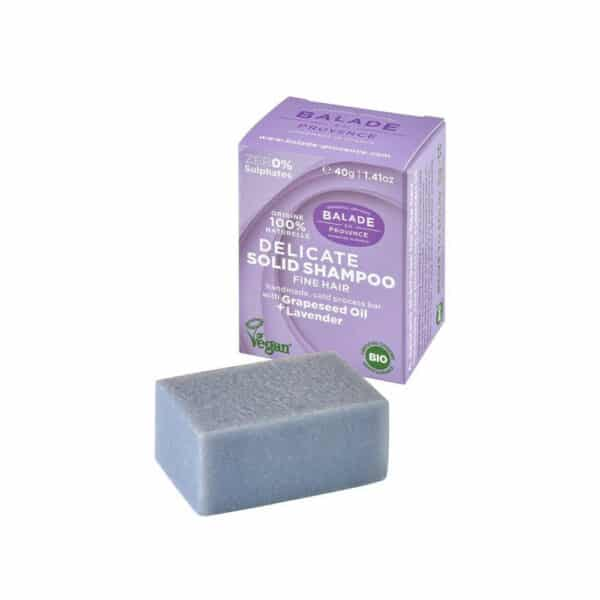 Shampooing solide Lavande Cheveux fins - Balade en Provence
