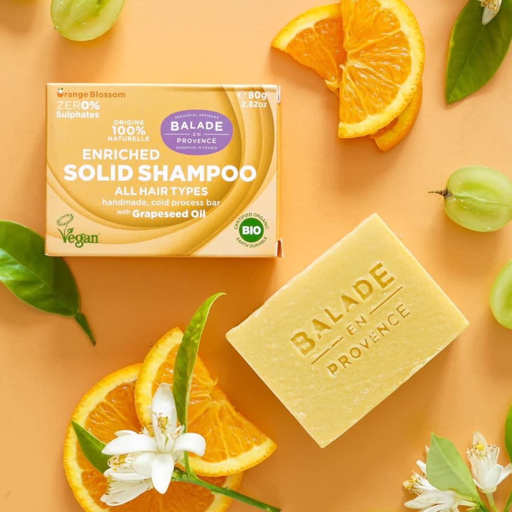 Shampooing solide enrichi - Balade en Provence