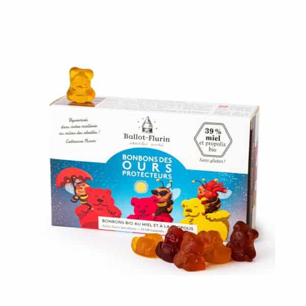 Bonbons des Ours protecteurs Bio - Ballot-flurin