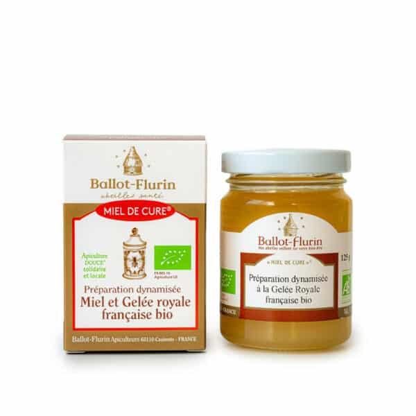 Miel de Cure Gelee Royale francaise bio - Ballot flurin