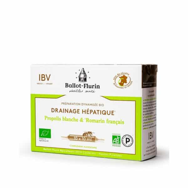 Preparation dynamisee Bio drainage hepatique ampoules - Ballot flurin