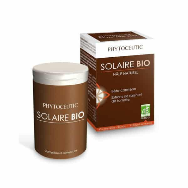 SOLAIRE BIO - ACCELERATEUR BRONZAGE NATUREL - PHYTOCEUTIC 60